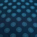 vải lụa satin tơ tằm đồng xu – xanh cổ vịt 3