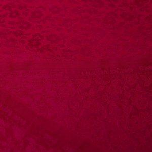 ải lụa satin tơ tằm hoa chanh - màu đỏ