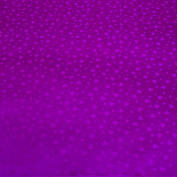 vải lụa satin tơ tằm hoa tim – Tím cà 3