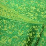 vải lụa satin tơ tằm hoa văn – mưa cốm