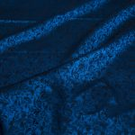 vải lụa satin tơ tằm tuyết mưa - xanh đen 2