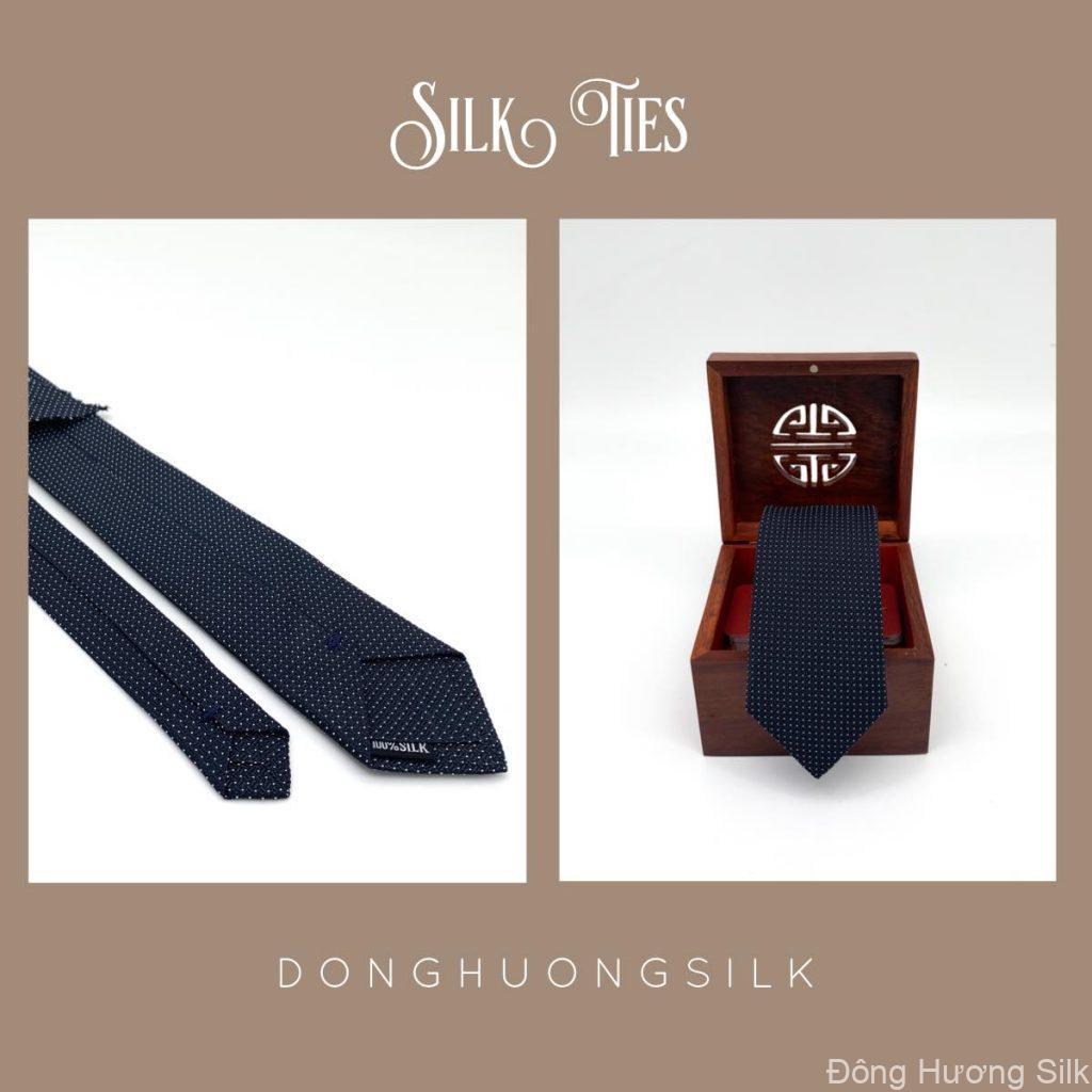 vạt lụa tơ tằm Đông Hương Silk collection