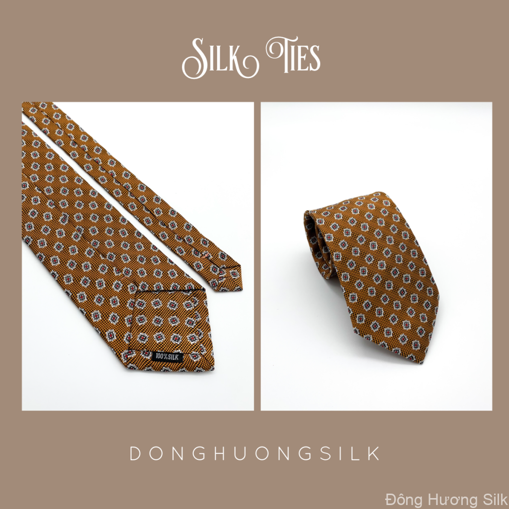 cà vạt lụa tơ tằm Đông Hương Silk collection summer 2020 pic3