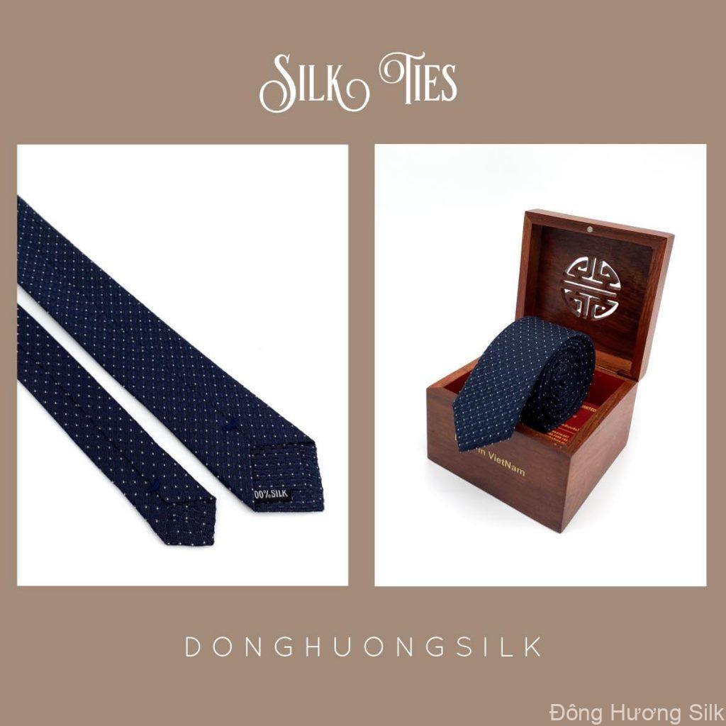 cà vạt lụa tơ tằm Đông Hương Silk collection summer 2020 pic4