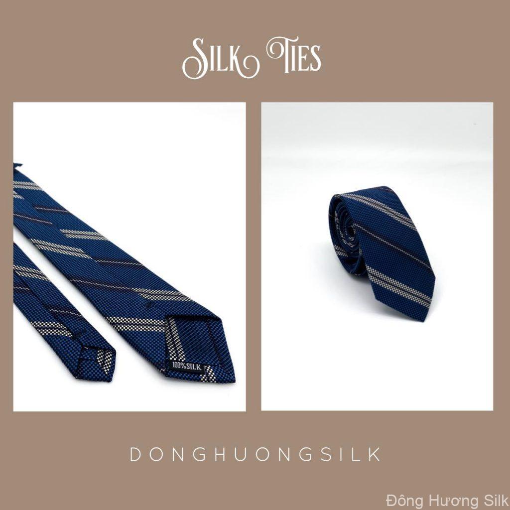 cà vạt lụa tơ tằm Đông Hương Silk collection summer 2020 pic5