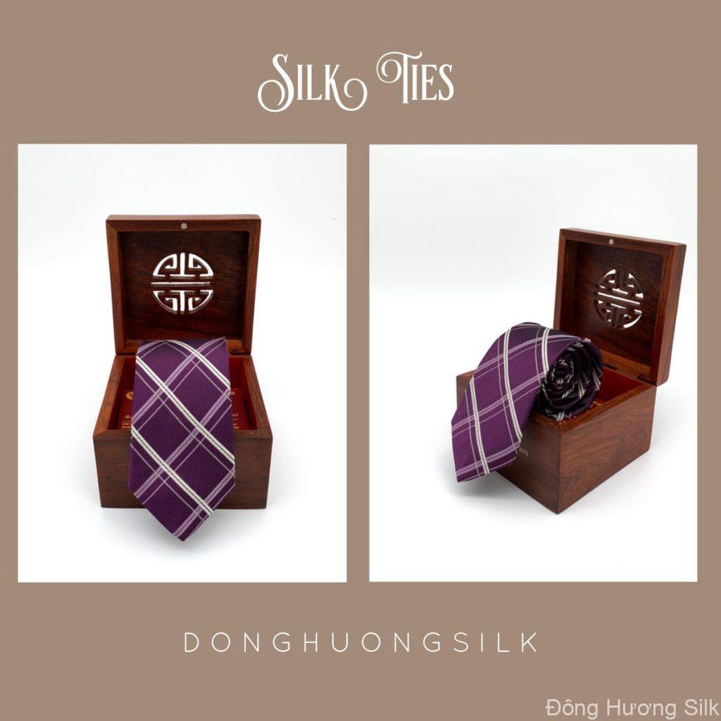 cà vạt lụa tơ tằm Đông Hương Silk collection summer 2020 pic9
