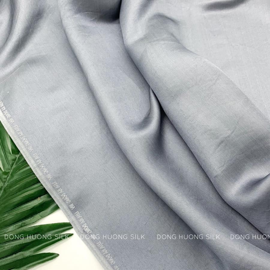 vải lụa tơ tằm may áo dài
