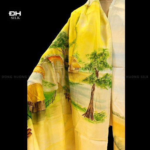 khan-lua-to-tam-ve-tay-nghe-thuat-chu-de-dong-que-Viet-Nam-Dong-Huong-Silk-2
