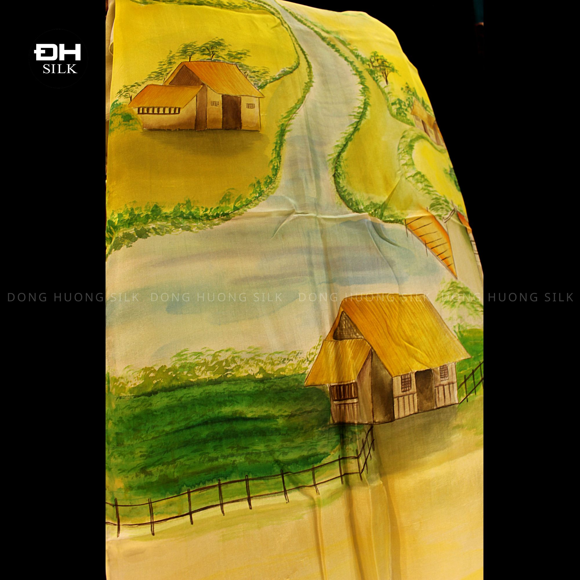 khan-lua-to-tam-ve-tay-nghe-thuat-chu-de-dong-que-Viet-Nam-Dong-Huong-Silk-4