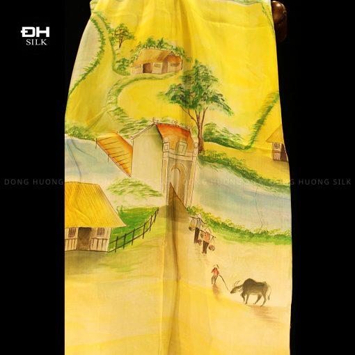 khan-lua-to-tam-ve-tay-nghe-thuat-chu-de-dong-que-Viet-Nam-Dong-Huong-Silk-7