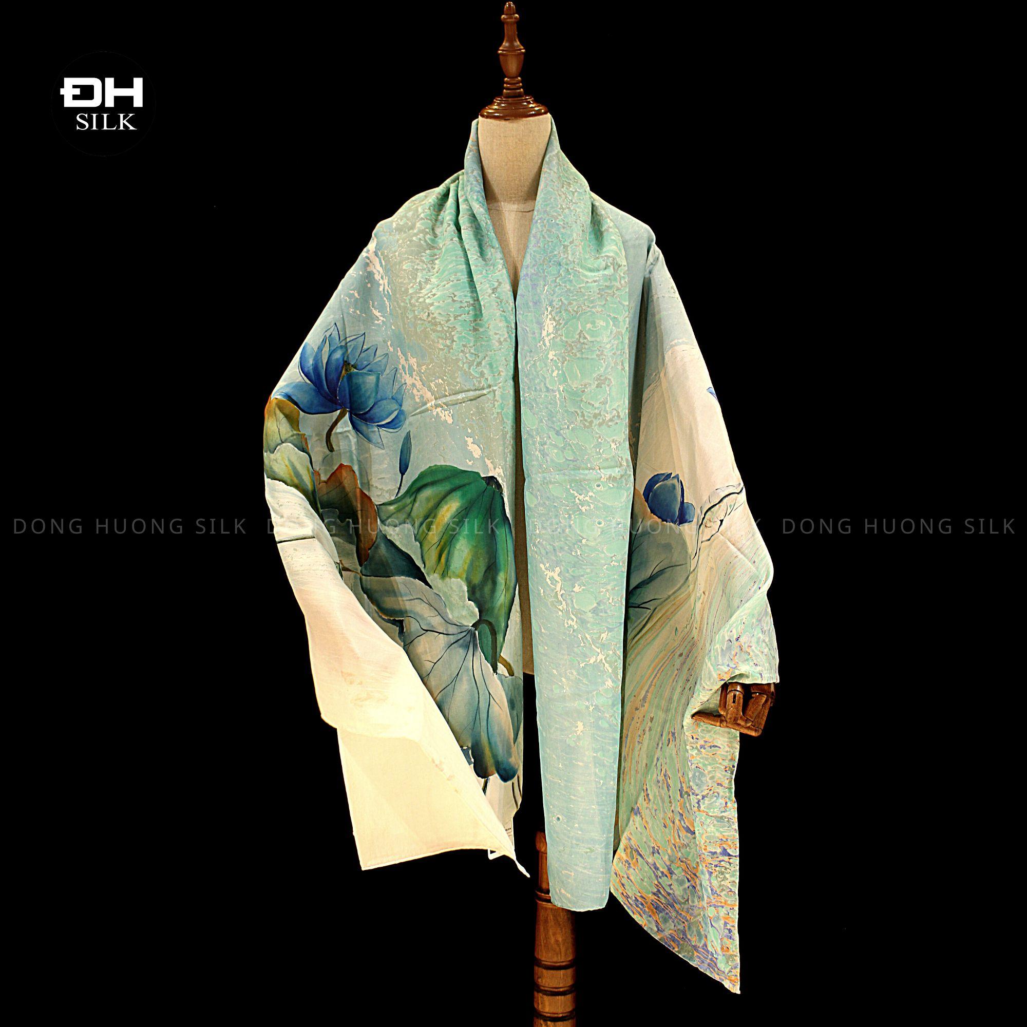 khan-lua-to-tam-ve-tay-thuy-an-nghe-thuat-hoa-sen-nhu-y-Dong-Huong-Silk-4